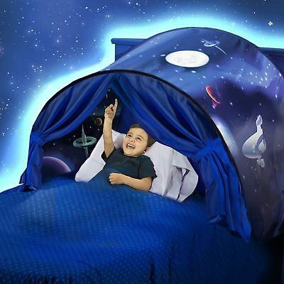 """Dream Tents """"Space Adventure"""" Pop Up Twin Bed Playhouse Folding Tent Brand New"""