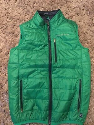 Vineyard Vines vest L Boys 16/ 18 kelly green down vest
