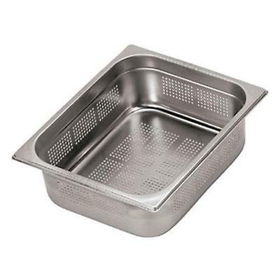 World Cuisine - 14202-02 - Full Size 3/4 in Deep Perforated Steam Table Pan