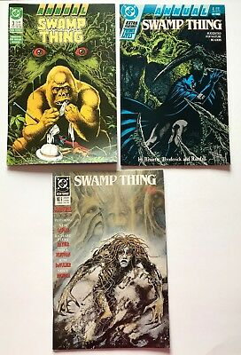 Swamp Thing Annual Lot of 3: #3 4 5  DC