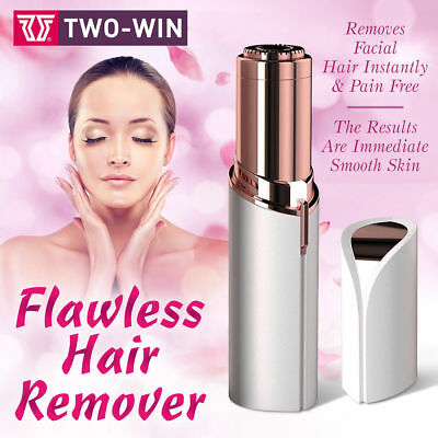 Finishing Touch Flawless Women Painless Hair Remover Face Facial Hair Removal