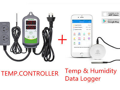 INBIRD Temperature Controller heat cool + Bluetooth Temp & Humidity Data Logger