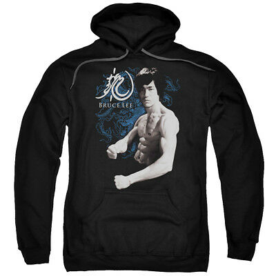 Bruce Lee Dragon Stance Pullover Hoodies for Men or Kids