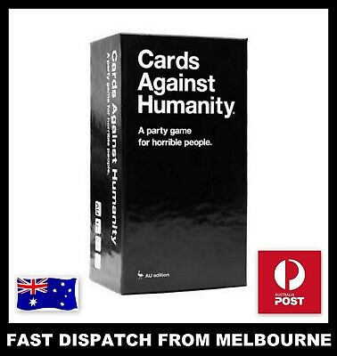 New Cards Against Humanity 2.0 Australian AU Edition Main Base Set 600 Cards 550