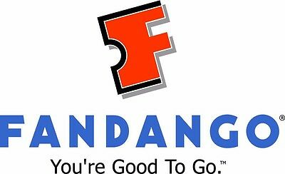 Two $100 Fandango Movie Promotional Gift Card Vouncher!!