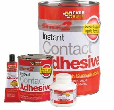 Contact Adhesive | Stick 2 All Purpose  Everbuild Glue 250Ml/750Ml/5L