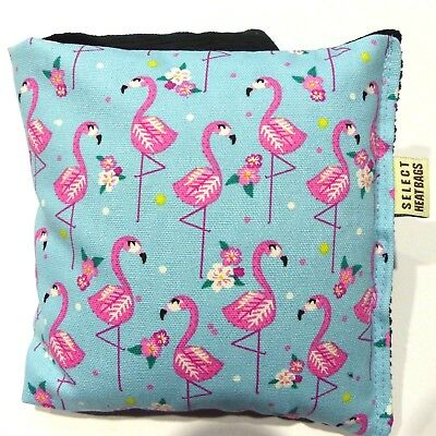 Wheat Bag Heat Pack Wheat Pack 34 x 17 CHOOSE FLAMINGO DESIGN Buy 2 and save