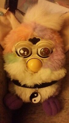 Calypso Custom Furby 90's Tye Dye Vintage cute colorful soft peace