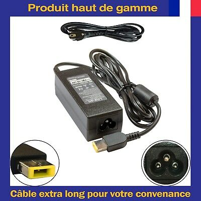 Chargeur d'Alimentation Pour Lenovo ADLX45NDC3A 36200262 45N0289 45N0490 45N0491