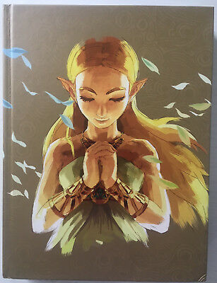 Zelda Breath of the Wild - Collectors Edition Lösungsbuch Guide