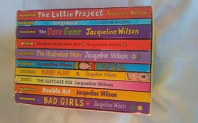 Jacqueline Wilson 10 Book Box Set Illustrated by Nick Sharratt RRP £48.90 Bundle