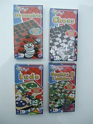 Magnetic travel traditional game (Chess, Draughts, Ludo or snakes & ladders)