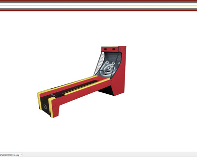 Skee-Ball 8.5 Feet Long Alley FREE SHIPPING