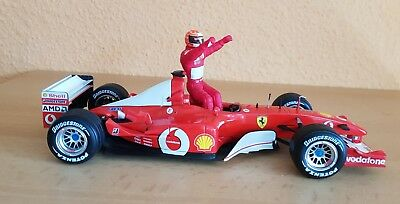 Ferrari 1:18 Michael Schumacher F2002 World Champion GP France 2002 Hot Wheels