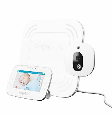 "Angelcare AC315 Digital Video, Movement & Sound 4.3"" Screen Baby Monitor"