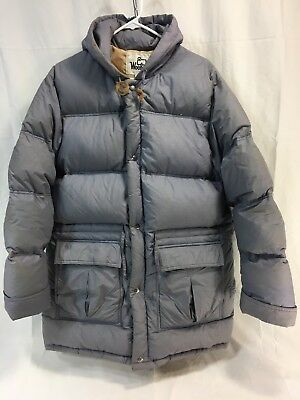 VINTAGE WOOLRICH Mens LARGE DOWN FILLED THICK HEAVY PARKA PUFFER Coat Jacket WOW