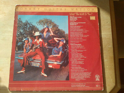 Johnny Guitar Watson, What The Hell Is This, Funk Metronome ‎– 0064.217 LP, 1979