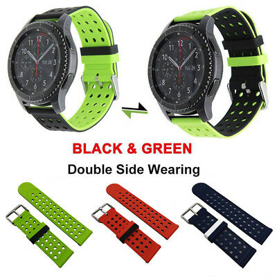Silikon Sport Band Armband Strap für Samsung Gear S3 S2 Classic Frontier