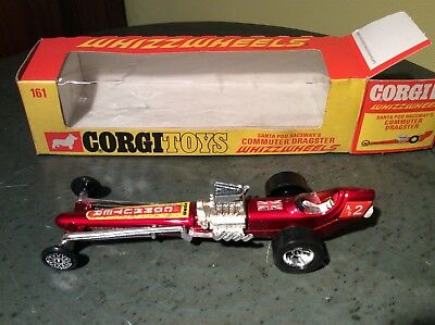 Corgi Whizzwheels 161 Commuter Dragster 1971 boxed. Mint Condition.