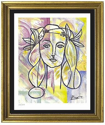"Pablo Picasso Signed/Hand-Numbered Ltd Ed ""War & Peace"" Litho Print (unframed)"