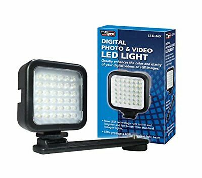 Vidpro LED-36X Photo and Video LED Light for Camera or Camcorder