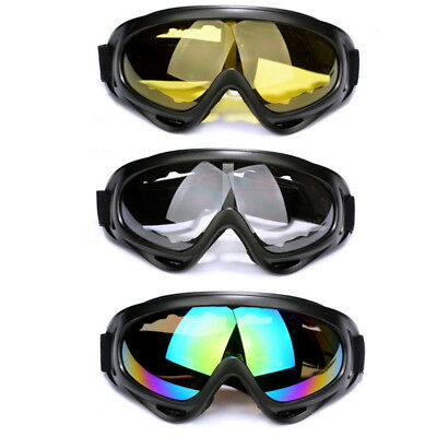 70522447a2f9 Motorcycle Goggles Clear Lens Fit Over Fitover Prescription Glasses Burning  Man