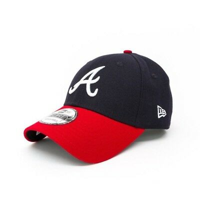 New Era The League Atlanta Braves 9FORTY Cap - Navy/Red
