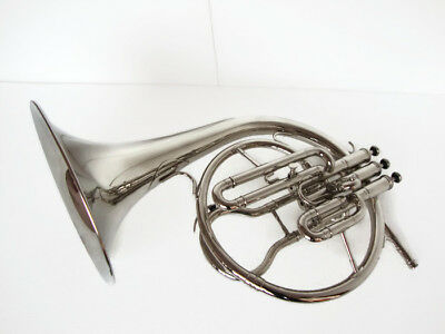 Christmas Sale Oswal Mellophone_Frenchhorn:bb/f^pitch W/case&mouthpiece