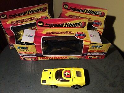 Speed Kings matchbox k-32 Shovel nose boxed, Mint Condition