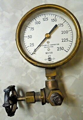 Vintage Brass Star Sprinkler Corp. Phila.Water Steam Punk