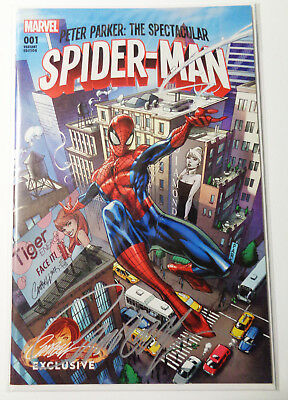 Peter Parker Spectacular Spider-Man #1A Signed J Scott Campbell Limited Sold Out