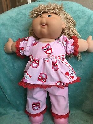 """Valentine owls play set fits 16-17""""  CPK==CLOTHES ONLY"""