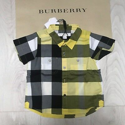 BNWT Gorgeous Baby Boys BURBERRY 9m shirt & Lots Designer Clothes 100%Genuine