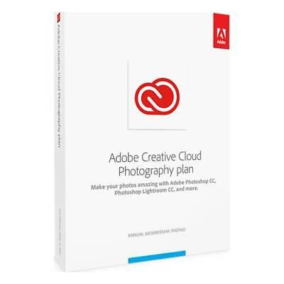 Adobe Creative Cloud Photography Plan for Mac (1-User) (1-Year Subscription) ...