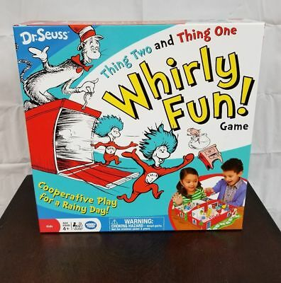 Dr Seuss Board Game Thing Two Thing One Whirly Fun Wonder Forge