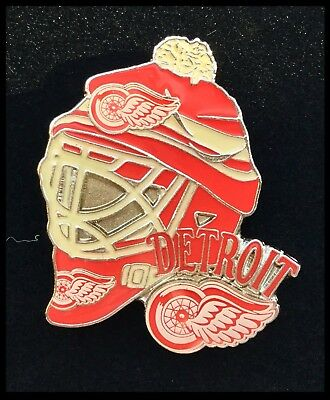 Detroit Red Wings NHL Winter Classic Netminder Helmet Pin Badge