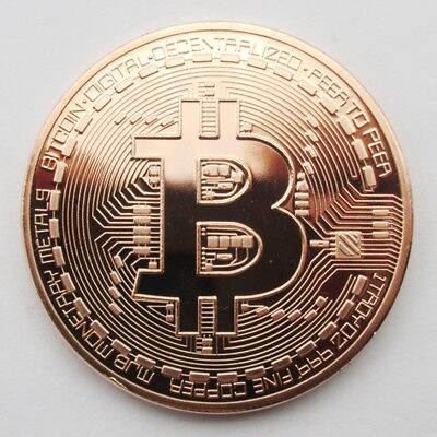 Bitcoin Gold Plated Physical Novelty Protective Acrylic Case Buy 3 Get 1 Free