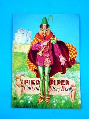Pied Piper Cut Out Story Book Shoe Advertising Paper Dolls Gebert's Everett