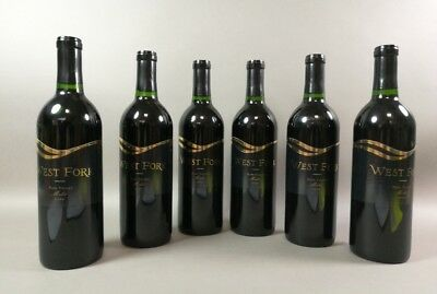 6 Flaschen Rotwein West Fork Napa Valley Merlot 2000 USA Amerika 75 cl