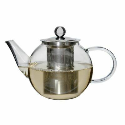 Zuhause - Oskar Glass Tea Pot with Stainless Steel Infuser 800ml