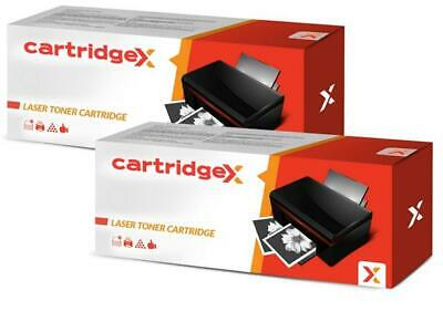 2 x Black Non-OEM Toner Cartridge For HP LaserJet Pro MFP M130fn M130fw CF217A