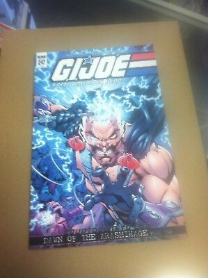 G.I Joe Real American Hero #247 1/10 retailer incentive variant.First printing.