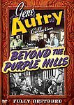 Gene Autry - Beyond the Purple Hills (DVD, 2005)New Rare Free 1st Class Shipping