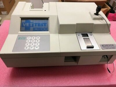 Idexx VetTest 8008 Chemistry Analyzer Medical Veterinary (14 day warranty)