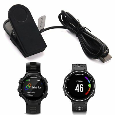 TUSITA Charger Clip for Garmin Forerunner 35,230,235,630,735XT/ Approach G10,S20