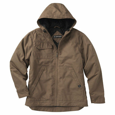 DRI DUCK Yukon Rugged And Warm Canvas Hooded Jacket 5065 Water Resistant - New