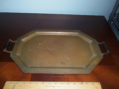 Antique Universal Landers Frary & Clark Copper Serving Tray