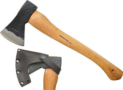 Condor Greenland Pattern Axe American Hickory w/ Leather Strap 61402 CTK4070C225