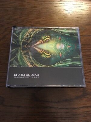 Grateful Dead Boston Garden September 26, 1991 Jerry Garcia 3CD LIVE