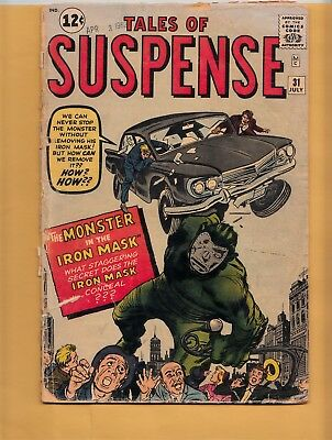 TALES OF SUSPENSE #31 Marvel Comics 1962 Dr Doom prototype